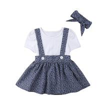 Pinafore Dress Set
