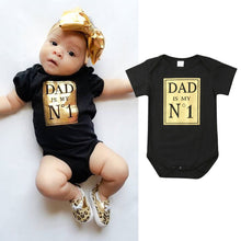 No 1 Dad Romper