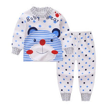 Smiley Pajamas Cartoon Clothing Sets