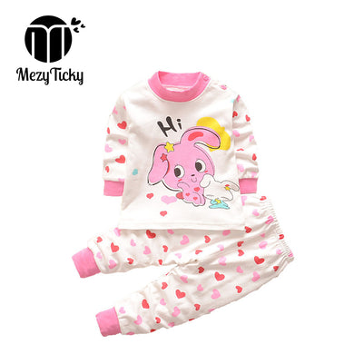 Toddler Casual pajamas Cartoon cotton sets