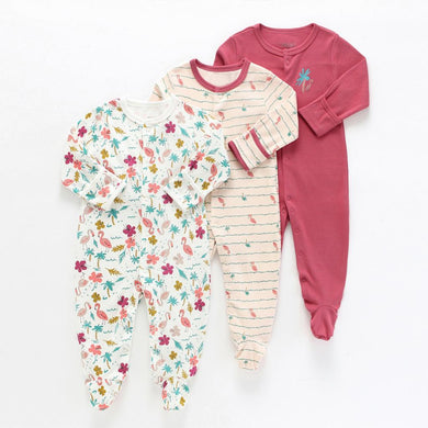baby girl / boy rompers sets  spring/autumn 3pcs