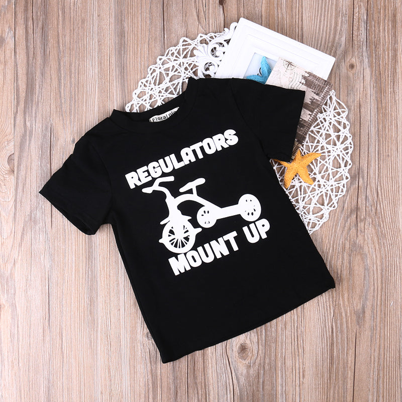 Regulators Mount Up T Shirt Your Collection Apparel All of our apparel is unisex sizing, with the exception of our tanks, which are women's sizing. your collection apparel