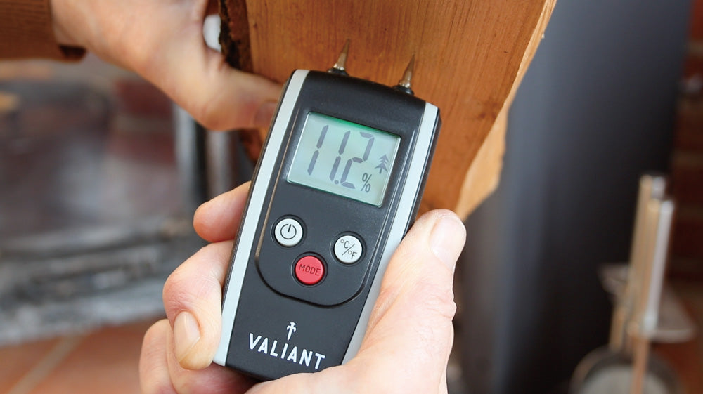 Press Release: Valiant Supports Ban on Burning of Wet Wood with Help of Best-Selling Moisture Meter