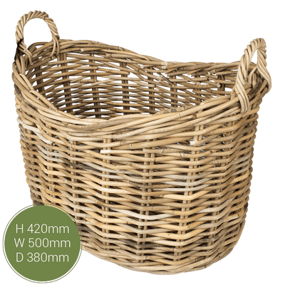 Dassels Scoop Top Log Basket