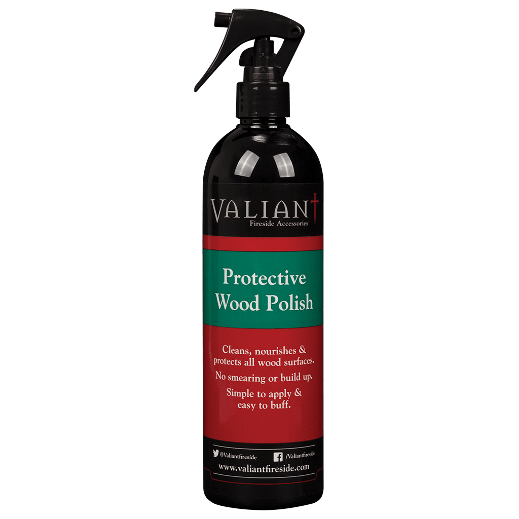 Valiant Protective Wood Polish on white background