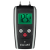 Valiant Colour Change Moisture Meter showing green screen, on white background