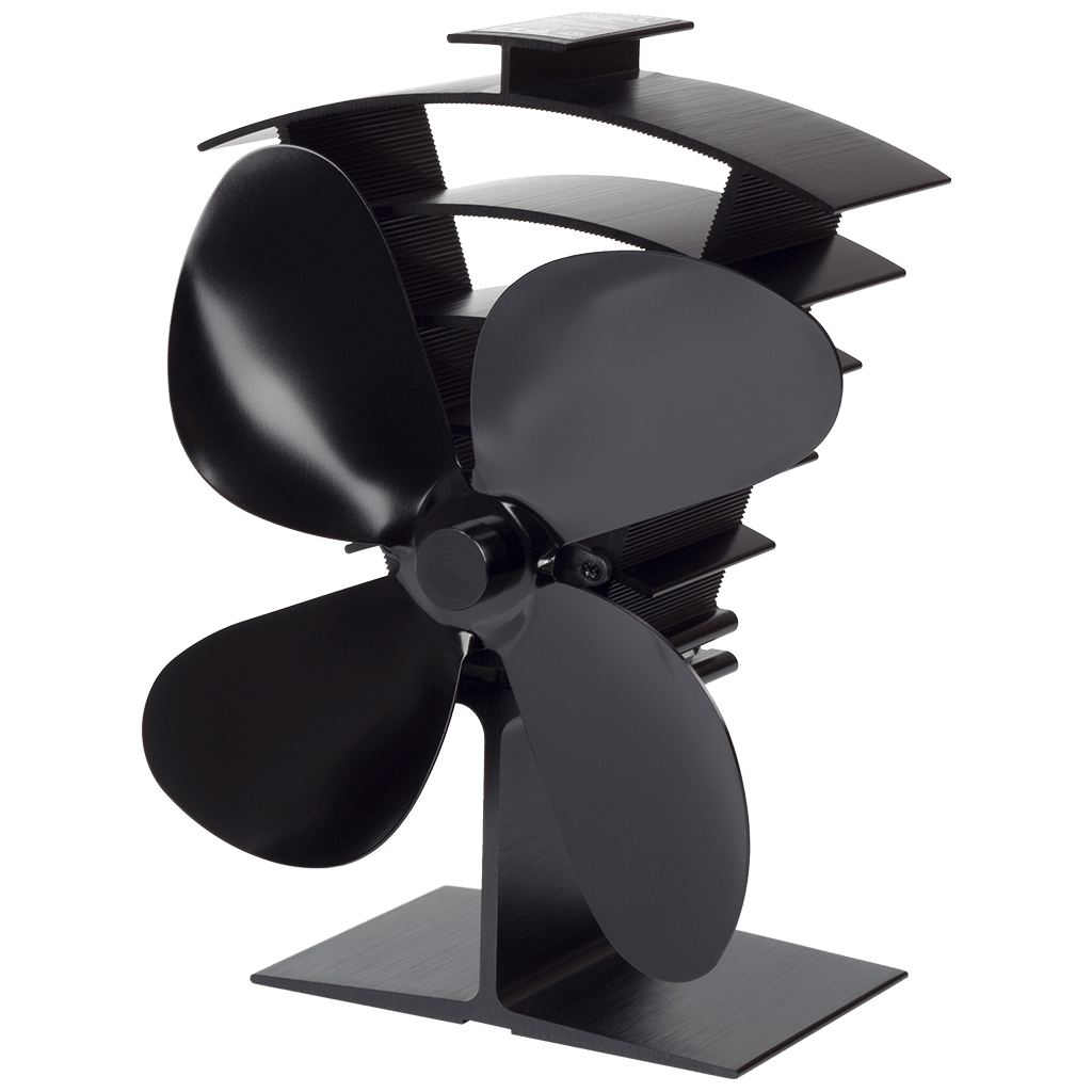 Valiant Heat Powered Stove Fan on white background