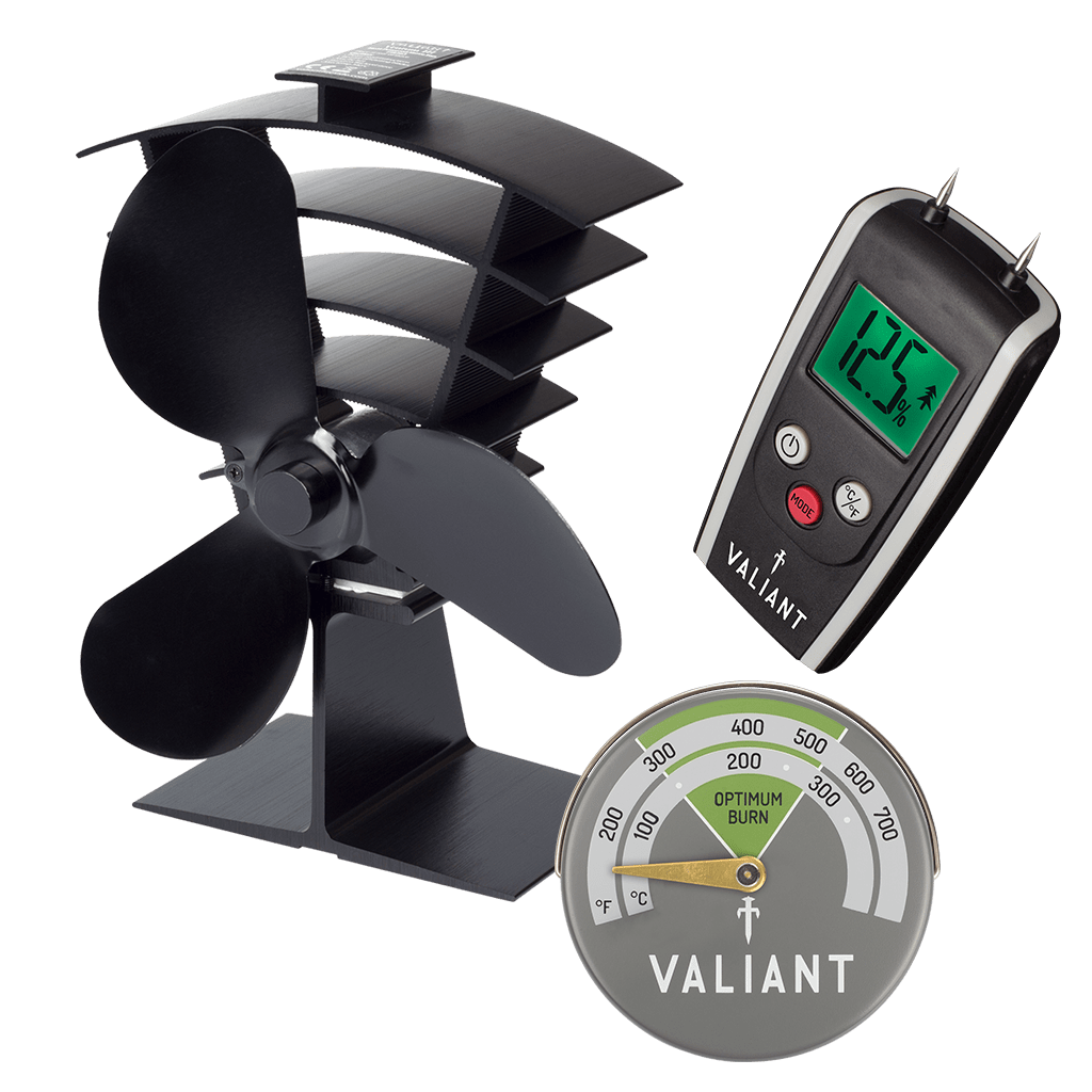 Ventum III Stove Fan Bundle