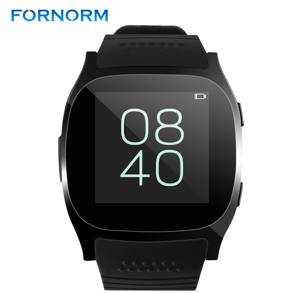 FORNORM T8 Smart Watch Support SIM TF card 2 0MP With Remote Camera  Bluetooth Connection Sync Notifier for Android Smart Phone