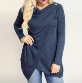 Long Sleeve O-Neck Cardigan....-Laura Sonia