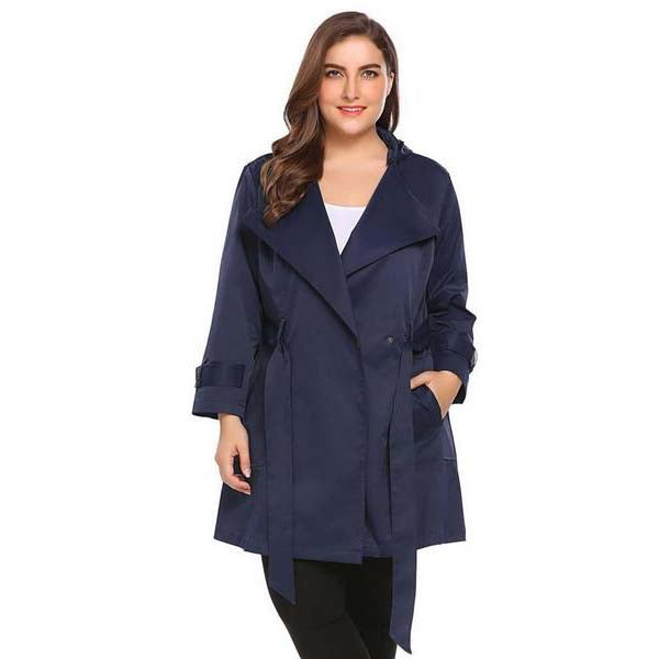 One Button Hooded Coat!-Laura Sonia