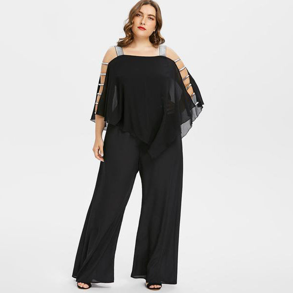 Own the Room Jumpsuit-Laura Sonia
