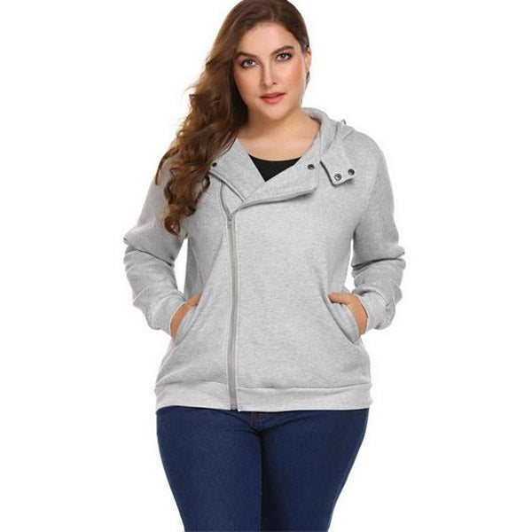 Patchwork Bombshell Hoodie-Laura Sonia
