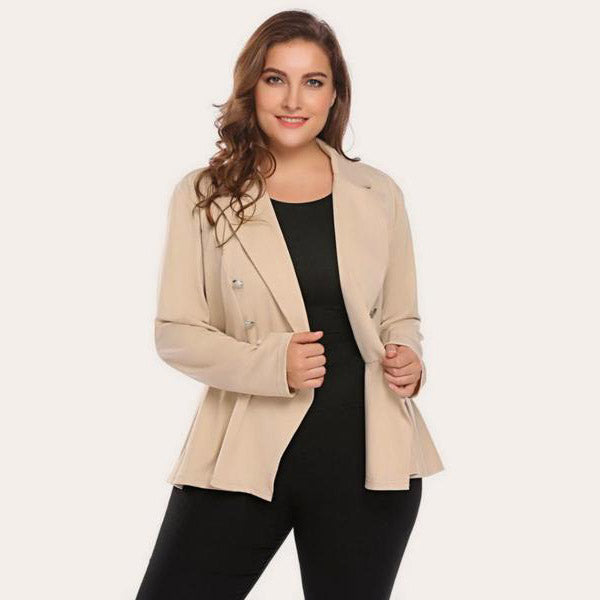 Chic Lapel Blazer Suit-Laura Sonia