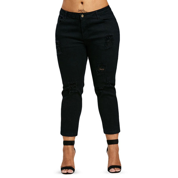 All Black Denim Love-Laura Sonia