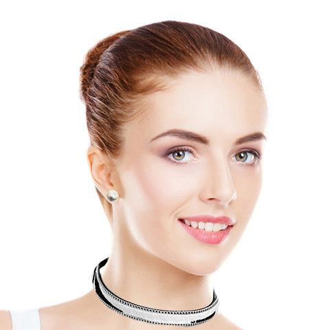 Animal Pattern Choker
