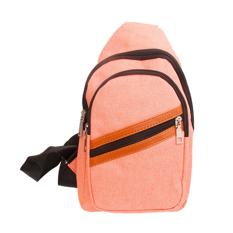 Orange Shoulder Sling Pack