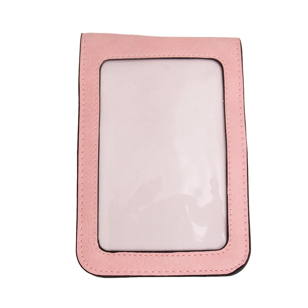 Pink Rhinestone Cellphone Wallet