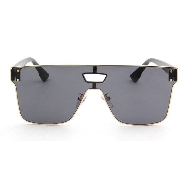 Gunmetal Single Lens Vintage Glasses