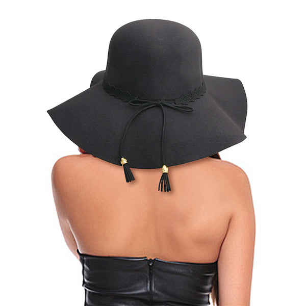 Black Winter Fedora