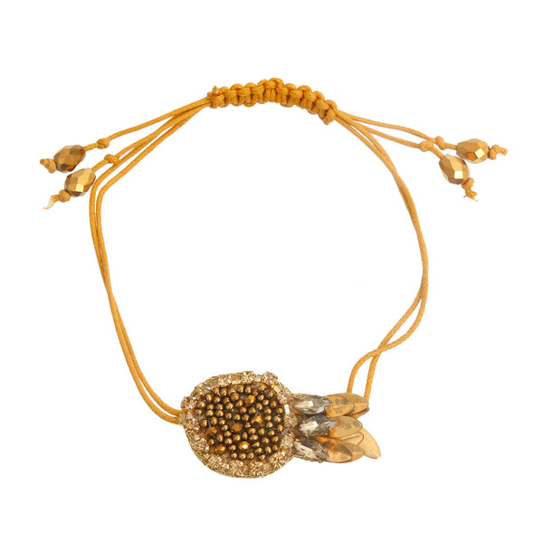 Gold Fish Friendship Bracelet