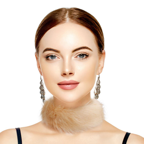 Light Brown Fur Choker