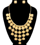 Beads Statement Necklace Set