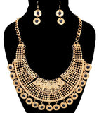 Dangling Statement Necklace Set