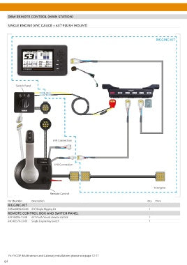 6Y9 SINGLE RIGGING KIT