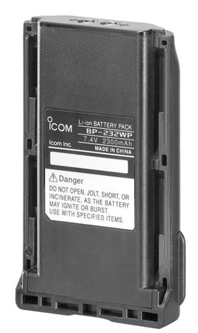 Icom BP-232WP Li-ion 2300mAH - ProHunt Advanced
