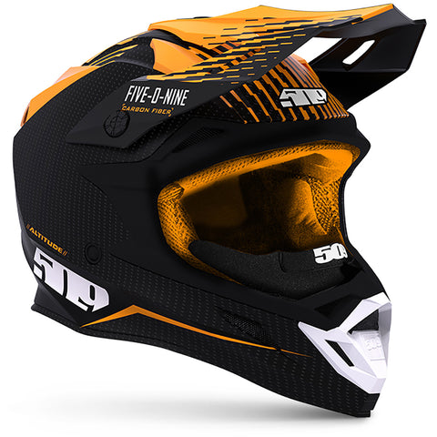 Altitude Carbon Fiber 3K Helmet with Fidlock®