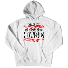 All About That Base Hoodie / White / 3XL