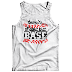 All About That Base Tank Top / White / 3XL