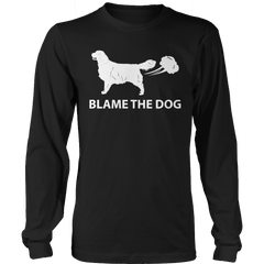 Blame The Dog 1 Long Sleeve / Black / S