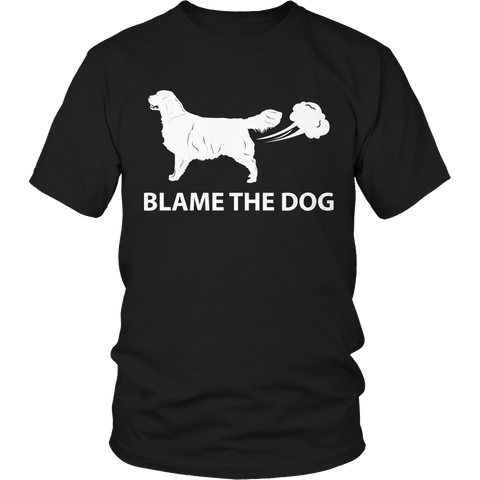 Blame The Dog 1 Unisex Shirt / Black / S