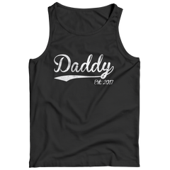 Daddy 2017 Tank Top / Black / S