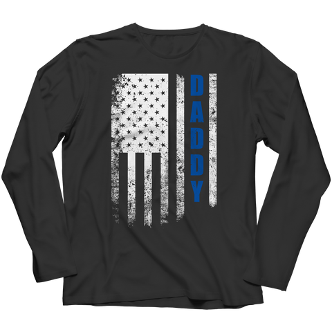 Daddy Flag Long Sleeve / Black / S
