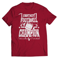 Fantasy Football Champion Unisex Shirt / Crimson / 3XL