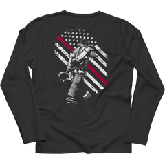 Firefighter Exclusive Thin Red Line Long Sleeve / Black / S