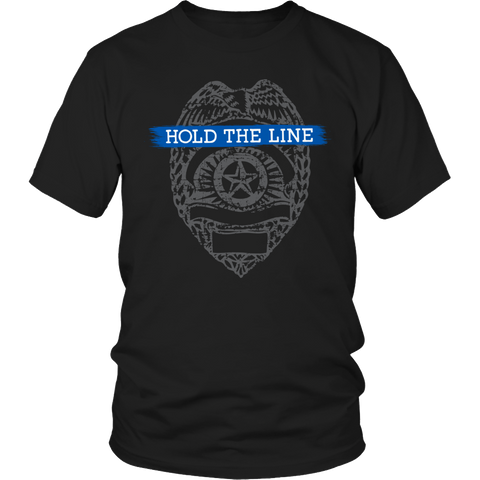 Hold The Line Unisex Shirt / Black / S