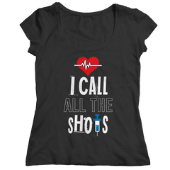 I Call All the Shots 1 Ladies Classic Shirt / Black / S