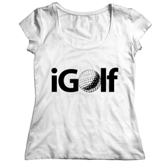 iGolf Ladies Classic Shirt / White / 2XL