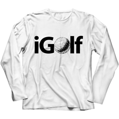 iGolf Long Sleeve / White / S