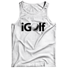 iGolf Tank Top / White / 3XL