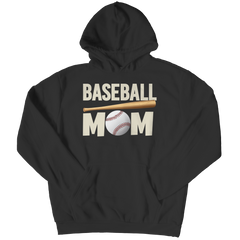Limited Edition - Baseball Mom Hoodie / Black / S