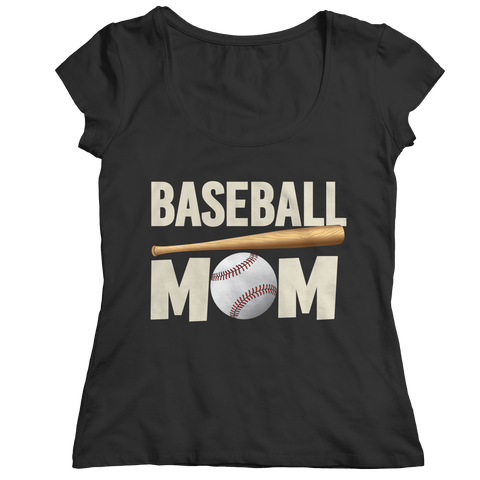 Limited Edition - Baseball Mom Ladies Classic Shirt / Black / S