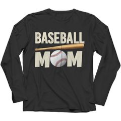 Limited Edition - Baseball Mom Long Sleeve / Black / S