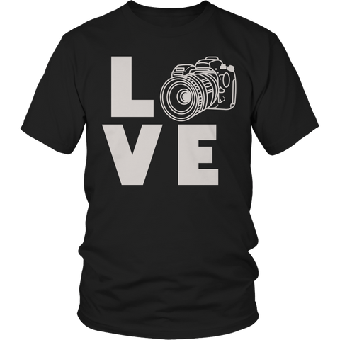 Limited Edition - Camera Love Unisex Shirt / Black / S