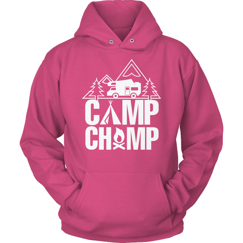 Limited Edition - Camp Champ Hoodie / Sangria / S