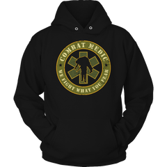 Limited Edition - Combat Medic Hoodie / Black / S